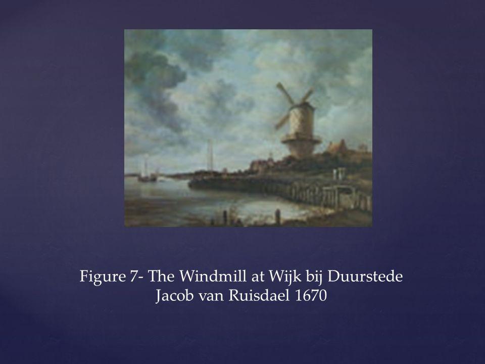 Figure 7- The Windmill at Wijk bij Duurstede Jacob van Ruisdael 1670