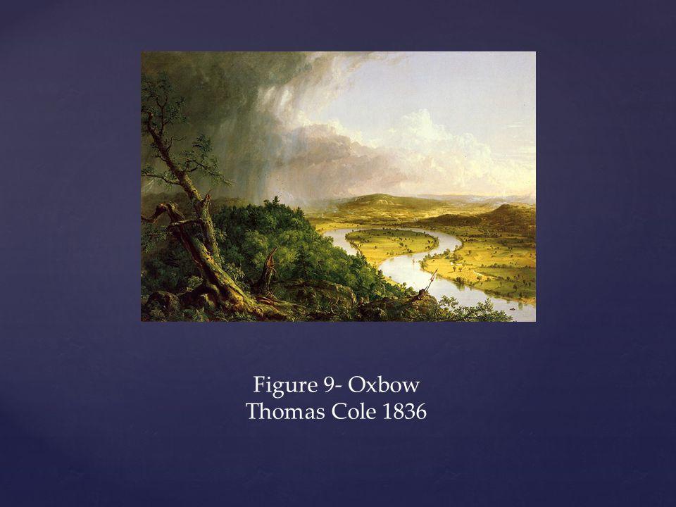 Figure 9- Oxbow Thomas Cole 1836