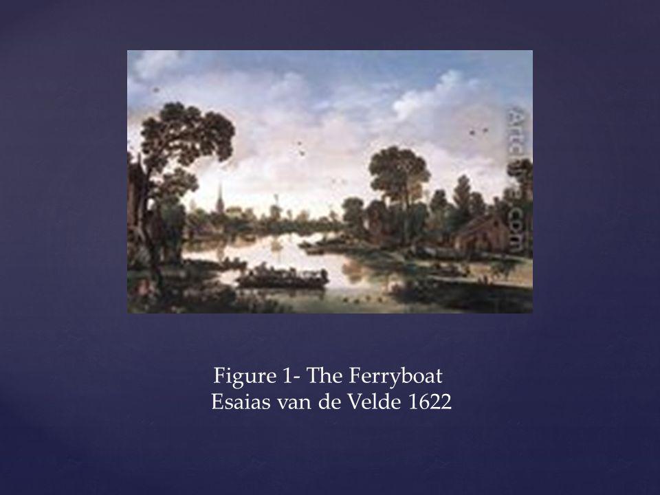 Figure 1- The Ferryboat Esaias van de Velde 1622