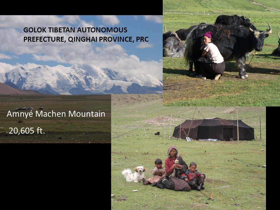 Amnyé Machen Mountain 20,605 ft. GOLOK TIBETAN AUTONOMOUS PREFECTURE, QINGHAI PROVINCE, PRC