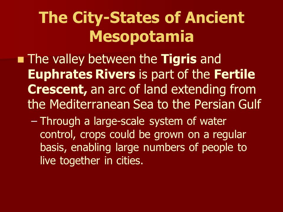 Chapter 1.2- Western Asia & Egypt I. City-States of Ancient Mesopotamia II. Empires of Ancient Mesopotamia III. The Code of Hammurabi IV. The Creativi
