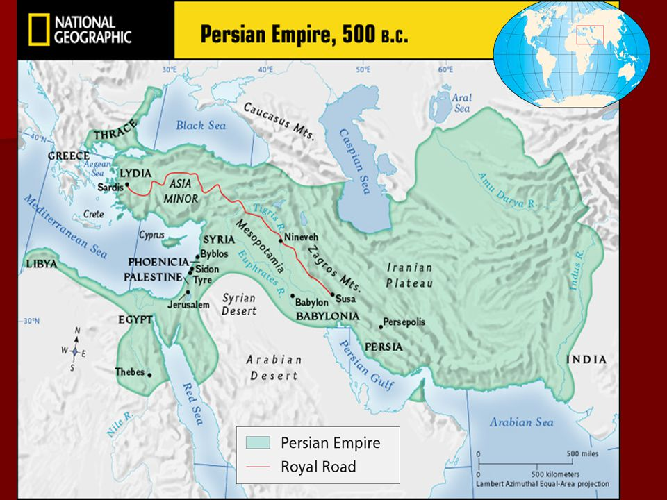 The Rise of New Empires Darius, who ruled from 521 to 486 B.C., extended the empire into India and Europe, creating the largest empire the world had y