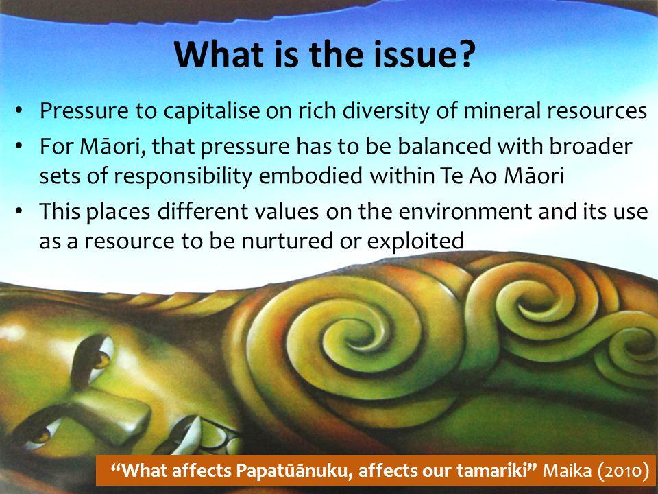 Why should Māori be involved.