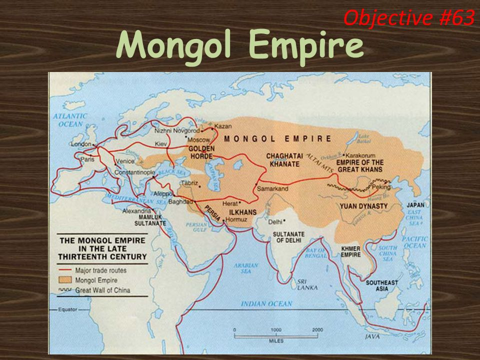 Mongol Empire Objective #63