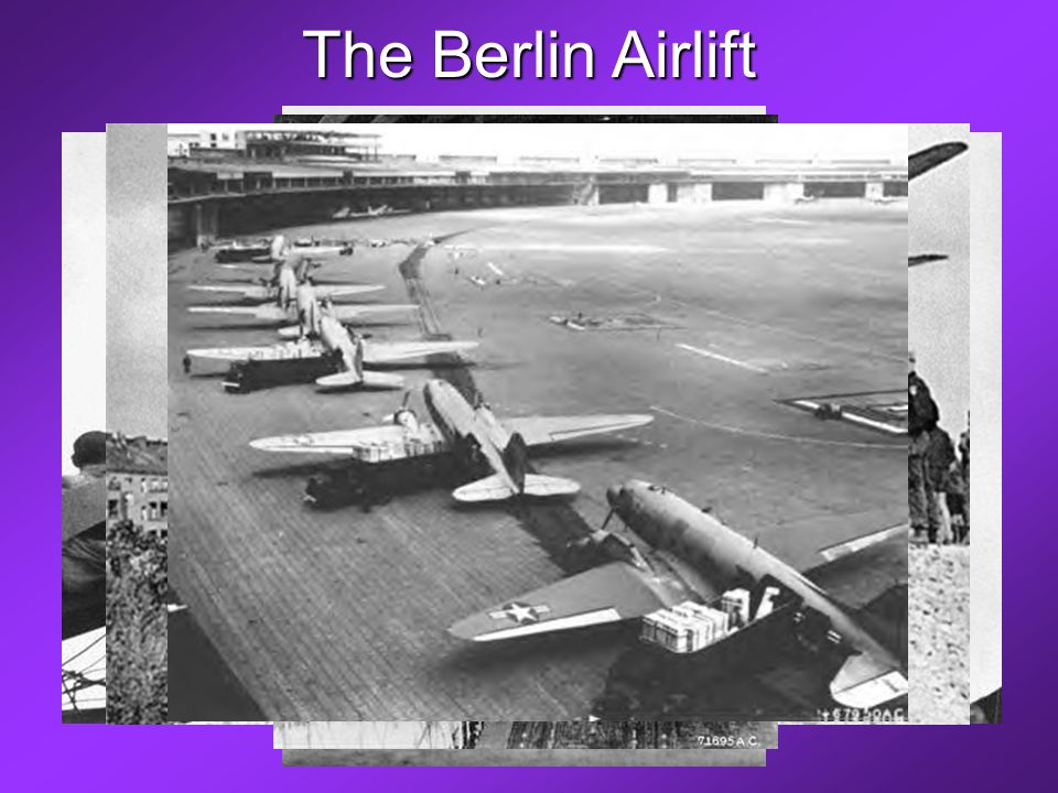 The Berlin Airlift