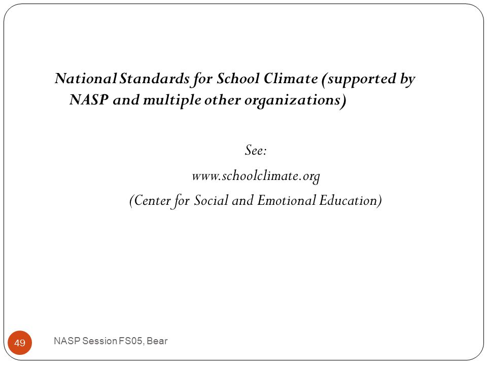 Why is school climate important.