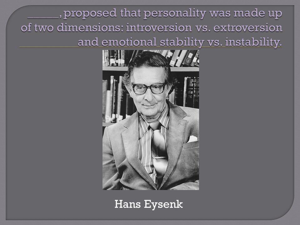 Hans Eysenk