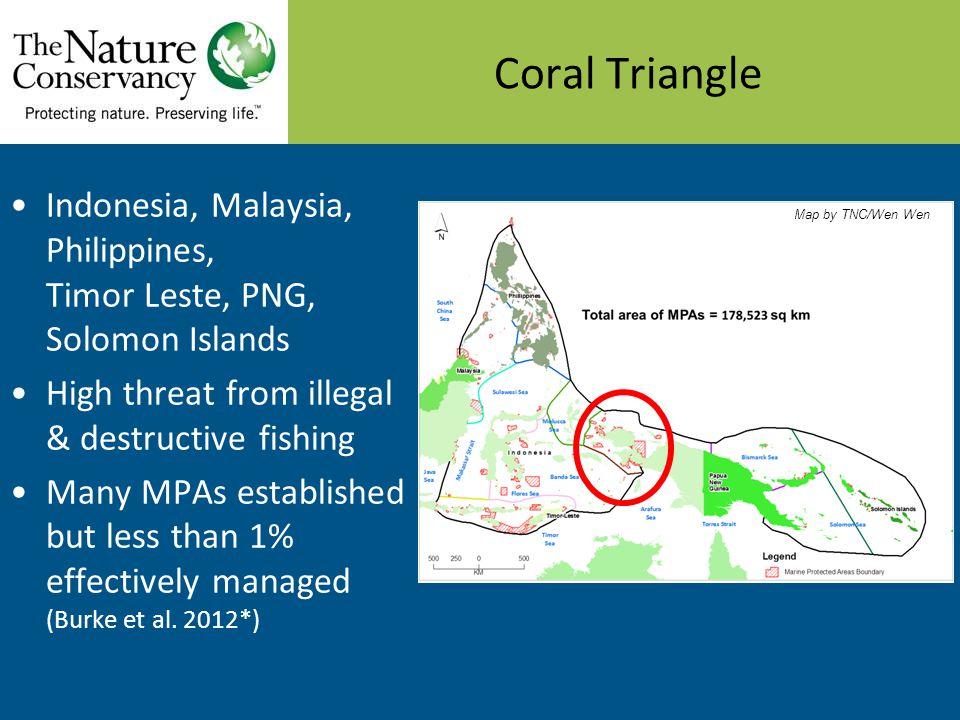 Bird's Head Seascape MPAs Network Map by TNC/Muhajir MCA in Misool, Raja Ampat