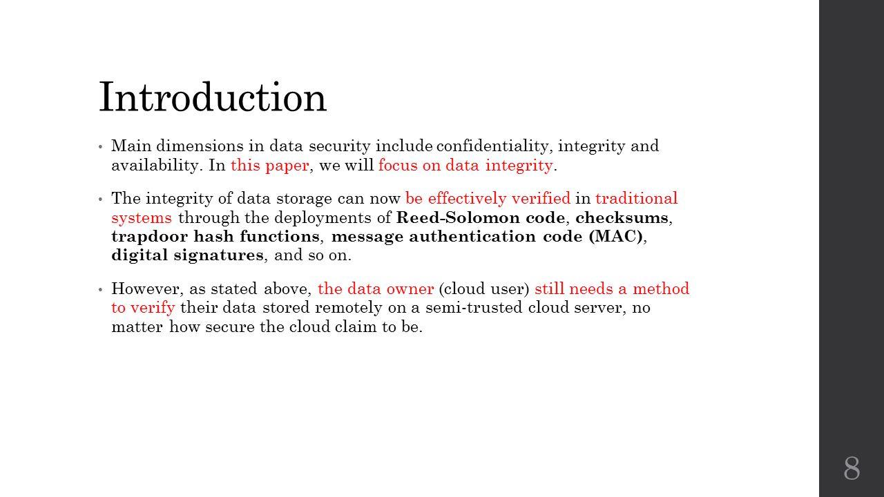 Preliminaries HLA or HVT is evolved from digital signatures.