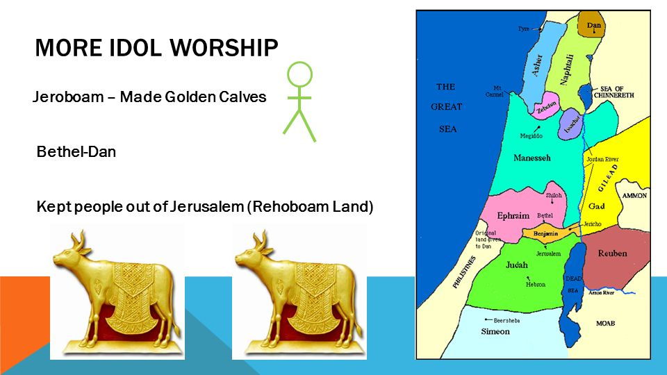 THE WARNING TO JEROBOAM Jeroboam -evil Family end People scattered