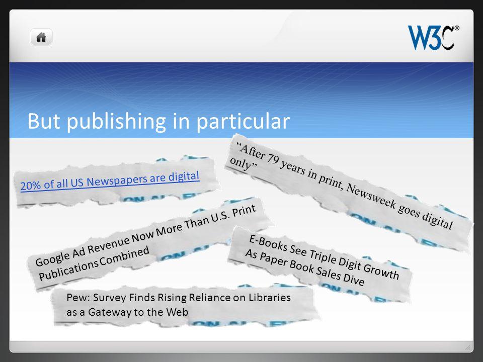 Let's Build an Open Web Platform for Publishing