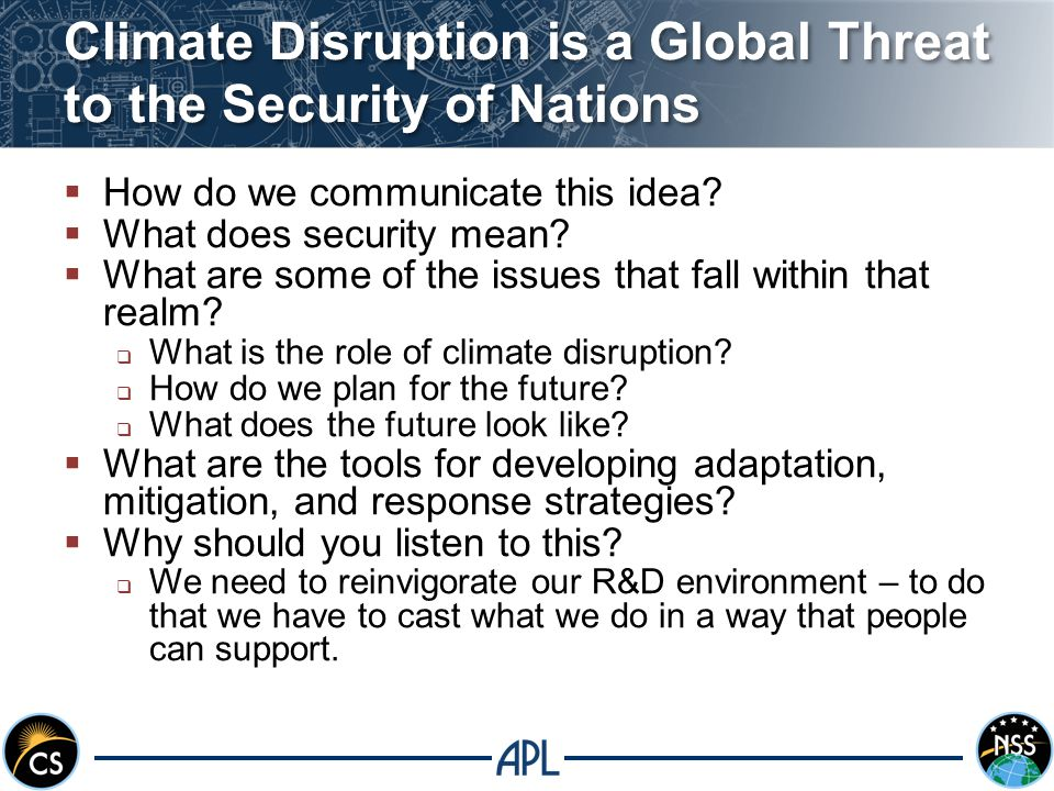Food and water security are driven by social factors and weather  In addition to the linear impacts of population growth there are other factors that may have non-linear consequences.