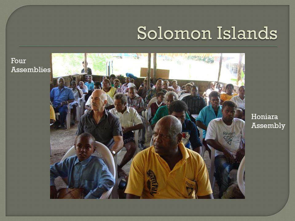 Honiara Assembly Four Assemblies