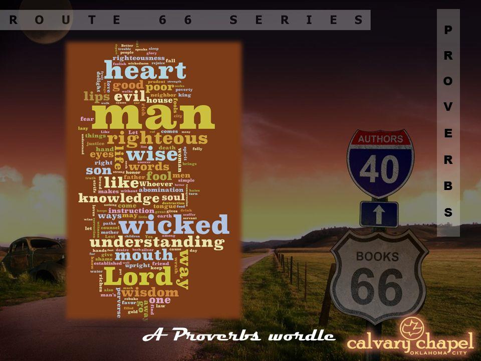 A Proverbs wordle