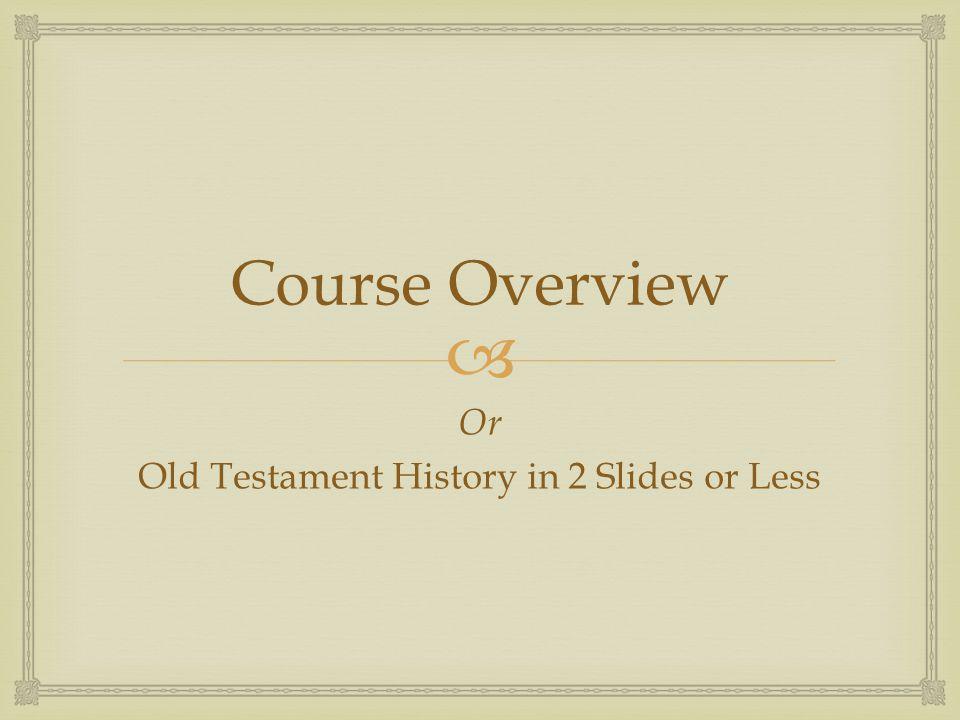  1.Origins: the Israelites before ca.1200 B.C.
