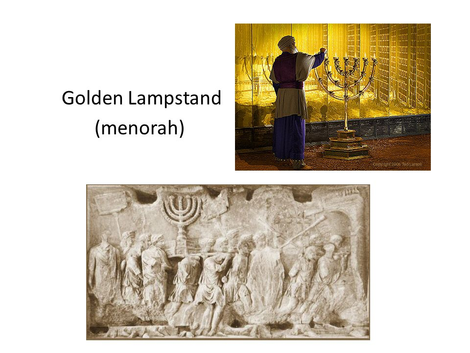 Tabernacle From Moses through David In Holy of Holies: – Ark of the covenant.