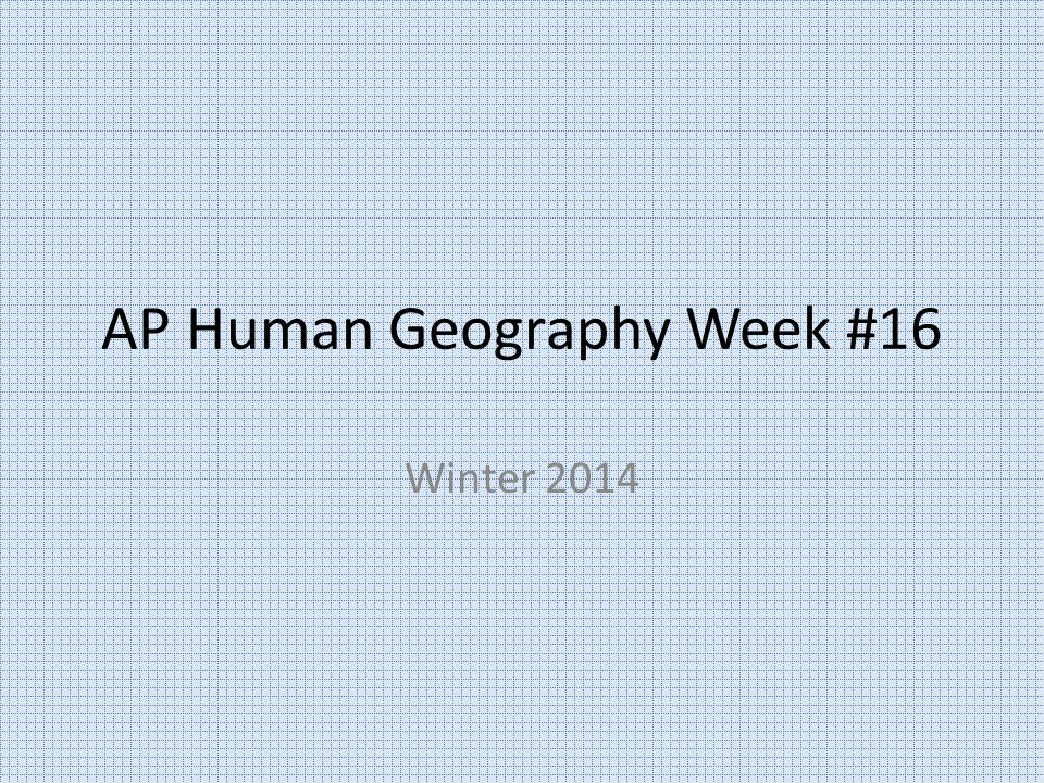 AP Human Geography 12/18/14 http://mrmilewski.com OBJECTIVE: Examine the changing demographics in America.