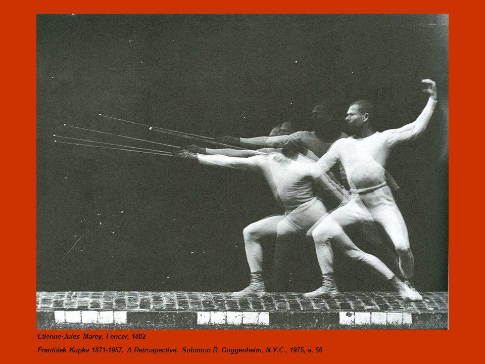 Etienne-Jules Marey, Fencer, 1882 František Kupka 1871-1957.