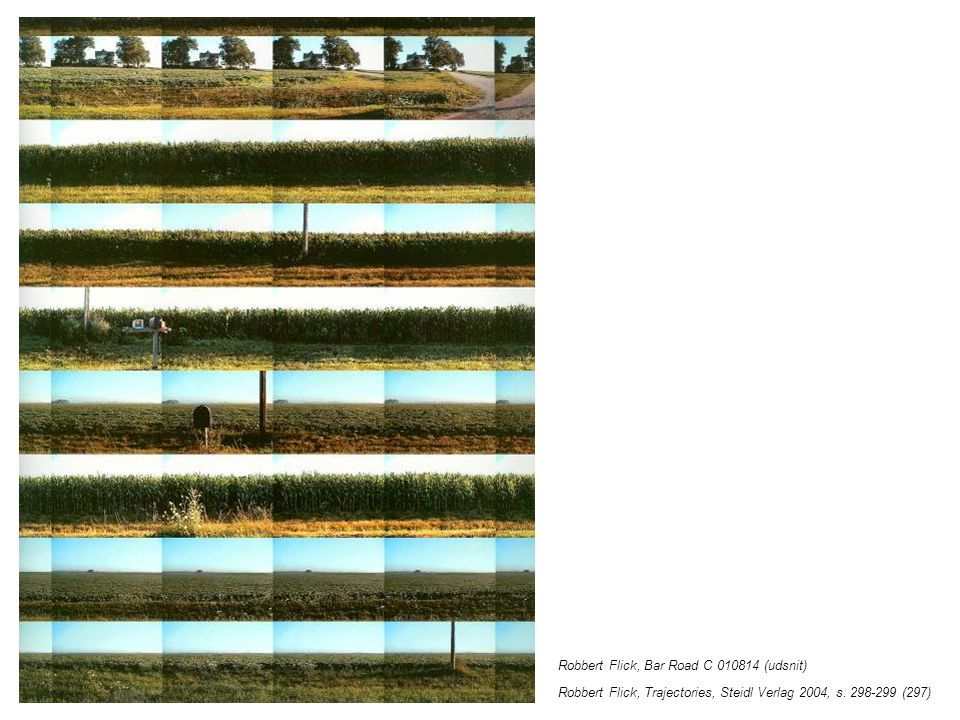 Robbert Flick, Bar Road C 010814 (udsnit) Robbert Flick, Trajectories, Steidl Verlag 2004, s.
