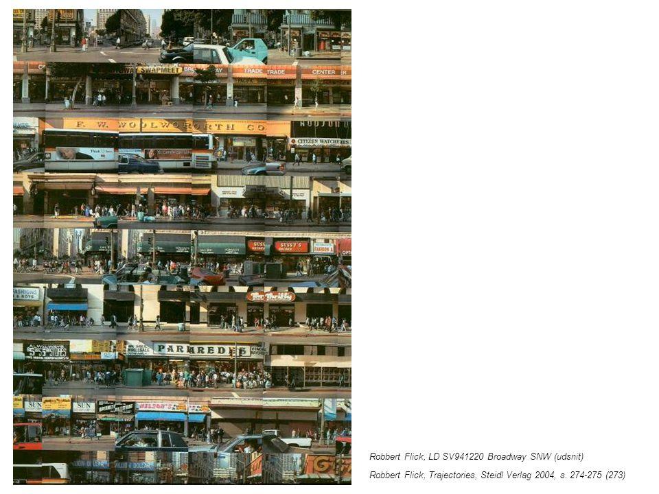 Robbert Flick, LD SV941220 Broadway SNW (udsnit) Robbert Flick, Trajectories, Steidl Verlag 2004, s.