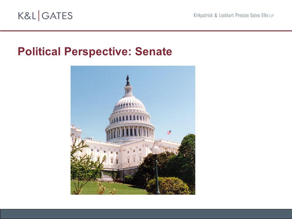 Political Perspective: Senate