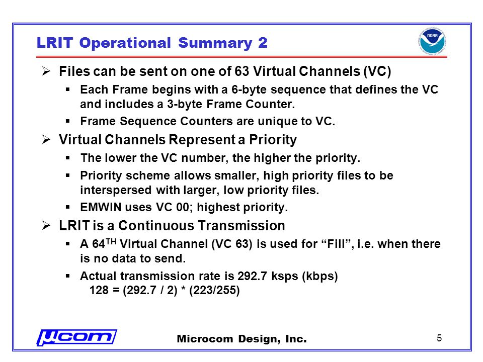 Microcom Design, Inc.