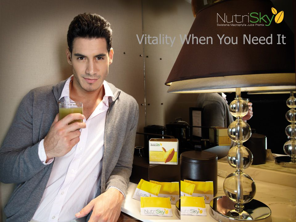 Vitality When You Need It