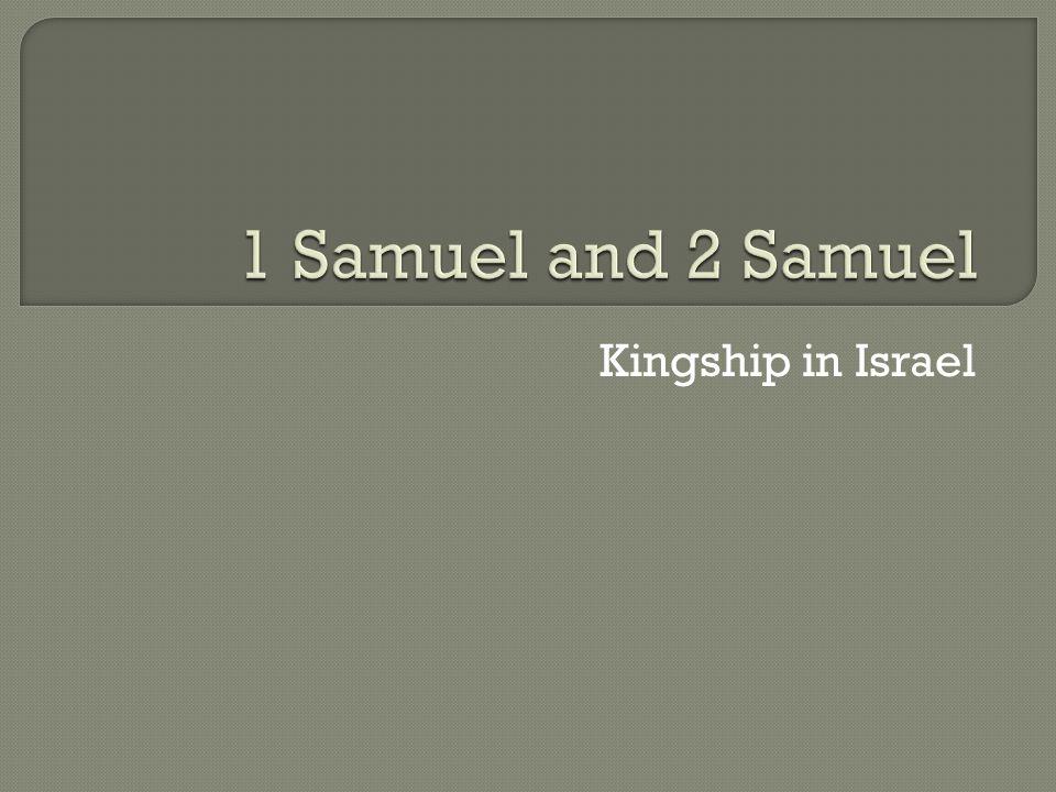 Kingship in Israel