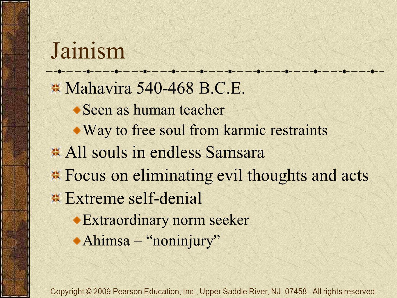 Jainism Mahavira 540-468 B.C.E.