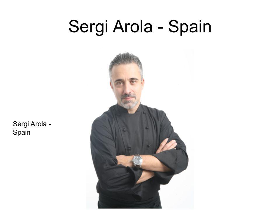 Sergi Arola - Spain