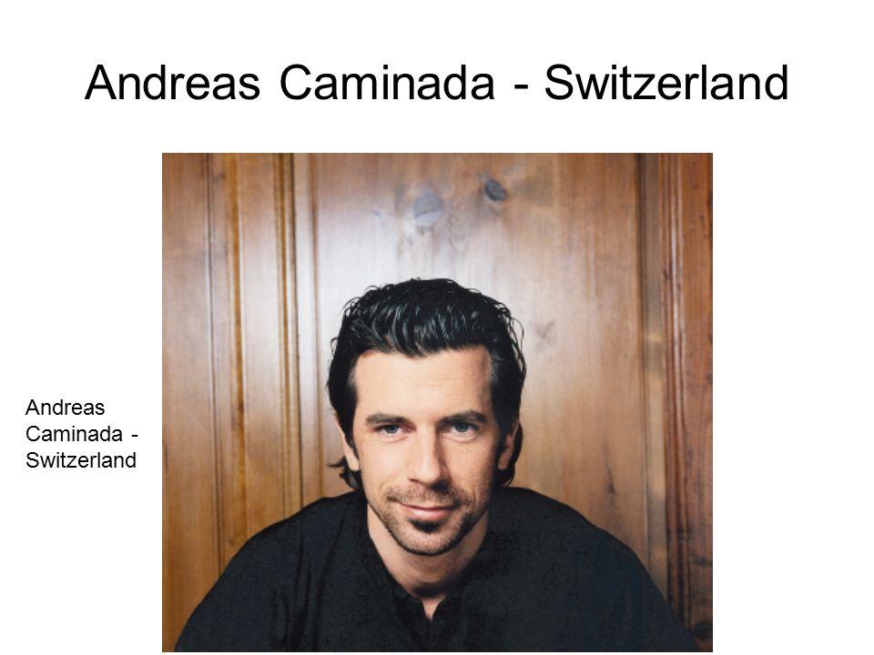 Andreas Caminada - Switzerland