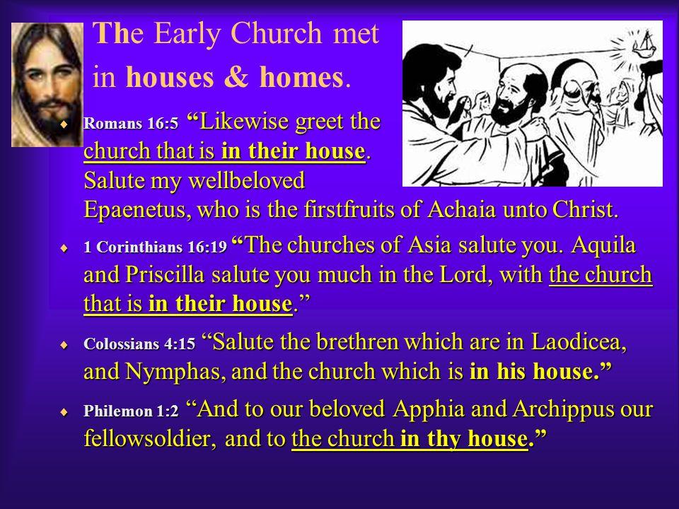 True Church/Ecclessia = the Body of Believers.