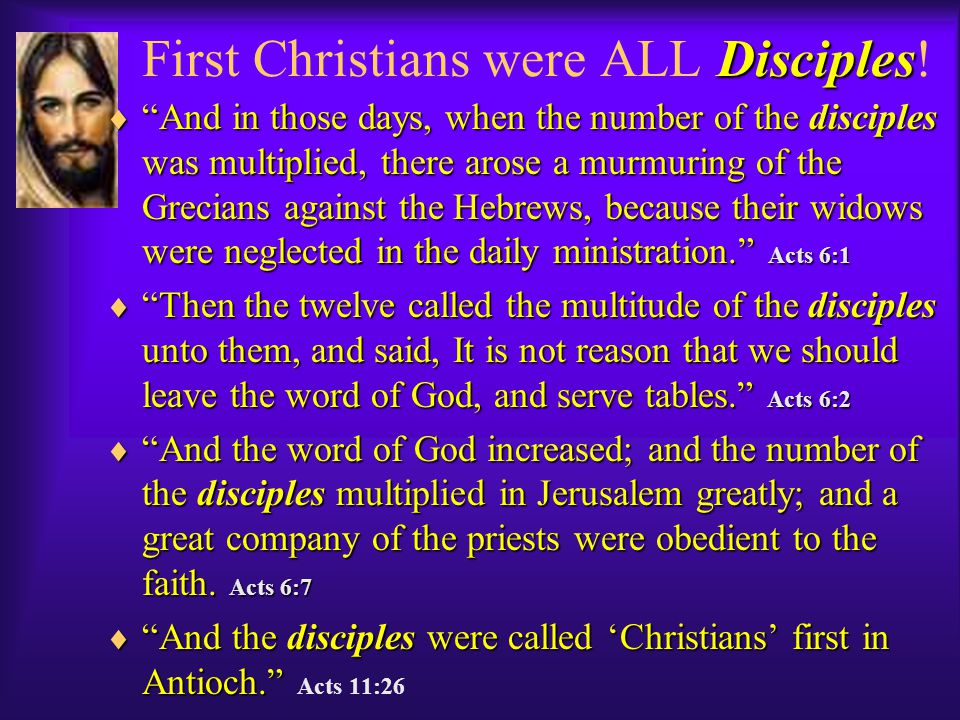 The Early Church. A Movement of Disciples. The Early Church.