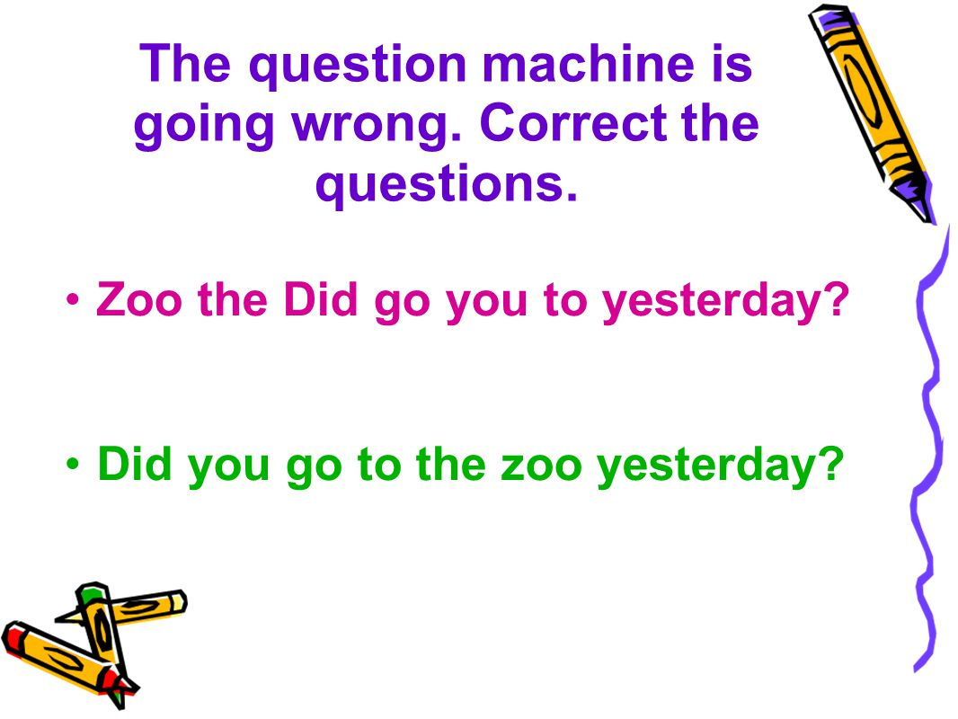The question machine is going wrong.Correct the questions.
