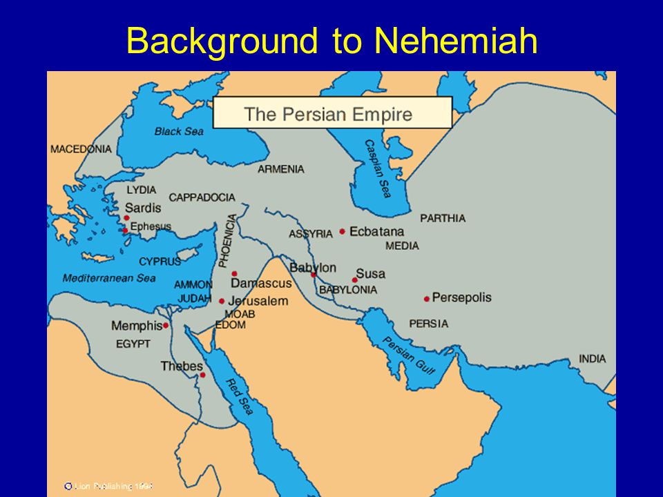 Background to Nehemiah