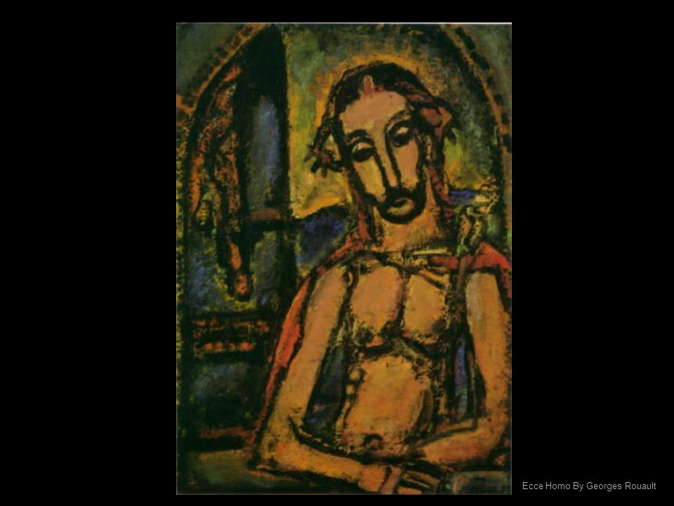 Ecce Homo By Georges Rouault