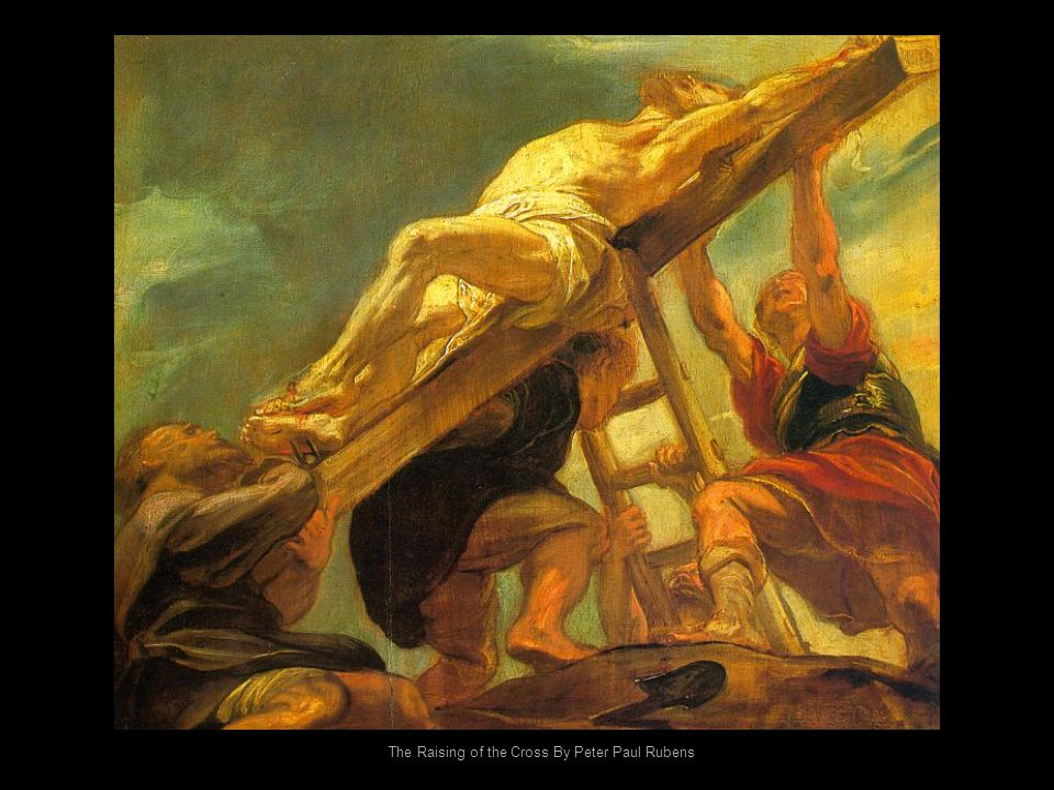 The Raising of the Cross By Peter Paul Rubens