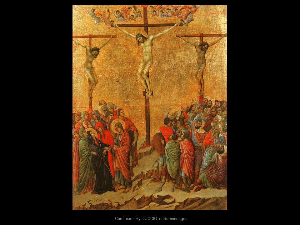 Curcifixion By DUCCIO di Buoninsegna