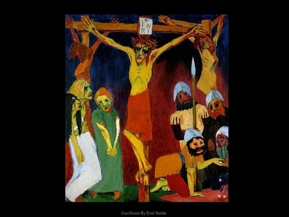 Crucifixion By Emil Nolde