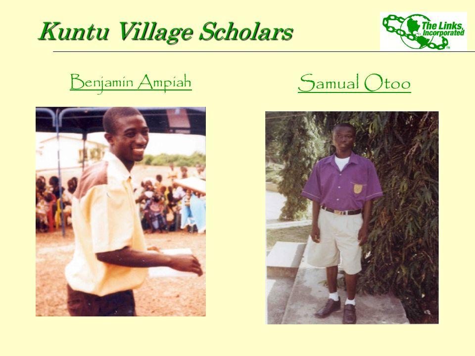 Benjamin Ampiah Kuntu Village Scholars Samual Otoo