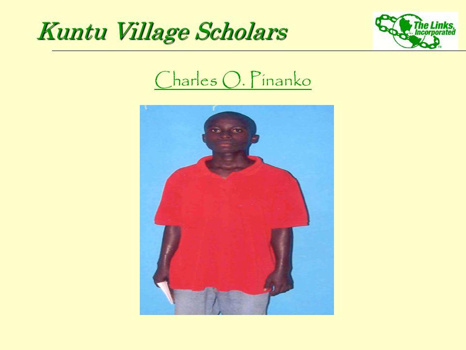 Charles O. Pinanko Kuntu Village Scholars