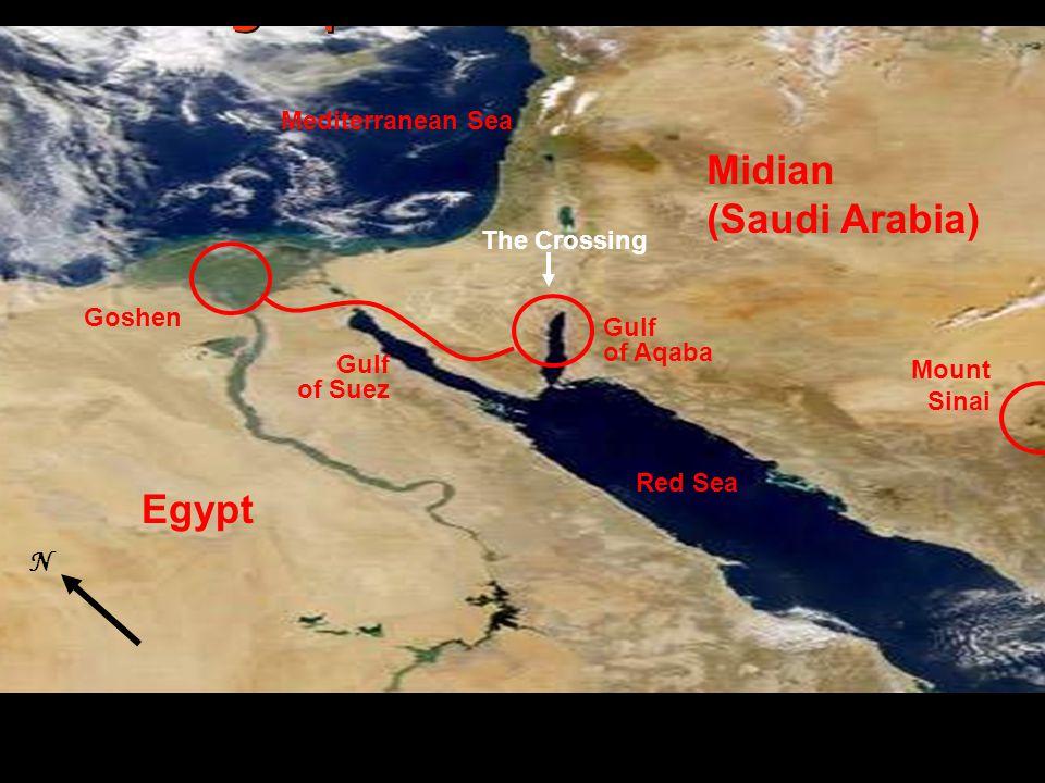 Goshen Succoth Wadi Watir Nuweiba Gulf of Aqaba The Trek