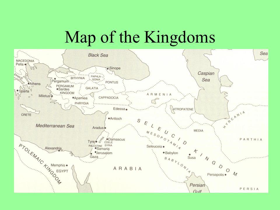 History: Hellenistic [Greek] Period Alexander the Great –Ca. 333 Ptolemaic Rule –Ca. 312-200 Seleucid Rule –Ca. 200-166