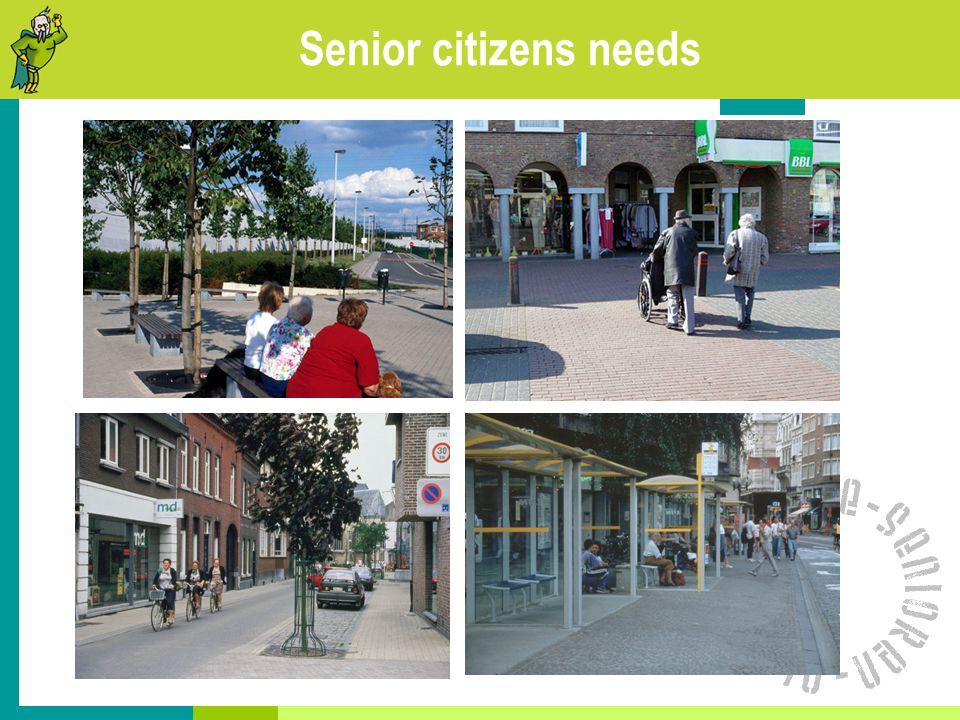 Senior citizens needs