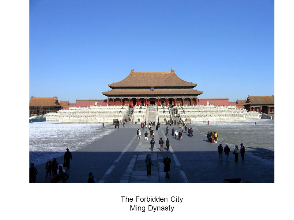 The Forbidden City Ming Dynasty