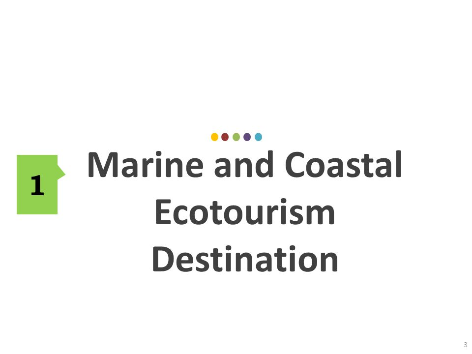 Marine and Coastal Destinations Linking to Sustainable Tourism Concept – Optimal usage of environmental resources – Respect Socio-cultural authenticity of host communities – Ensure viable, long term operations, providing socio-economic benefits to all stakeholders – Involvement/participation of all relevant stakeholders as well as strong political leadership – Constant monitoring on impacts – High level of tourist satisfaction 34 Quality of Life - integration in the community - economic feasibility - minimal social impact Quality of Human resources - integrity - carrying capacity - preservation Quality of Experience - uniqueness - curiosity - imagination