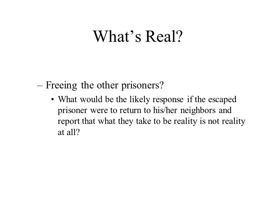 What's Real.