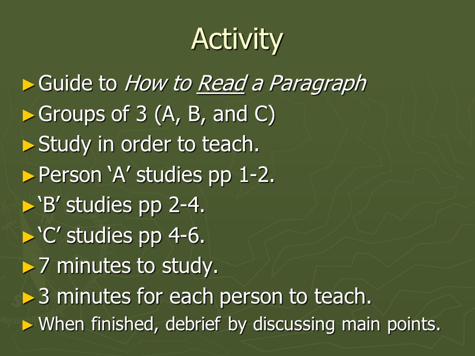 Part I Theory of Close Reading: Reading with intellectual discipline