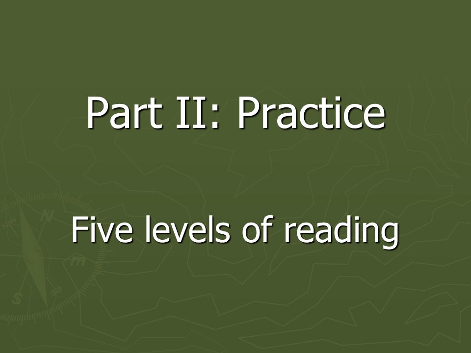 Activity ► Same triads ► Read pp. 17-19 ► 'A' reads Reading to Learn ► 'B' reads Reading to Understand Systems of Thought ► 'C' reads Reading within D