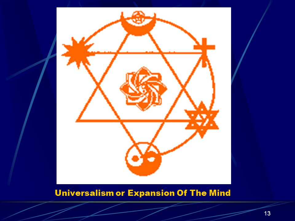 13 Universalism or Expansion Of The Mind